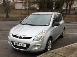 Hyundai i20, 2010 (10 Only 67,000 miles,New Mot,Full Service BARGAIN £2750!