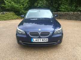 BMW 525d se Turbo Diesel 3.0cc 200bhp 6 speed 4 door saloon 07/2007 2 former keepers 230k service history 13 stamps in book upto 220k