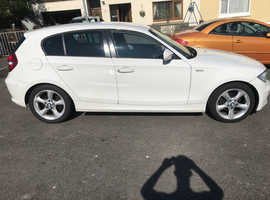 BMW 1 series, 2011 (11) White Hatchback, Manual Diesel, 89,000 miles