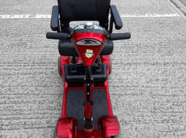 Preowned mobility boot scooter