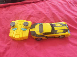 Transformers bumblebee Rc car