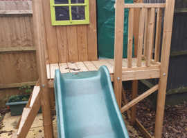 Dunster wavy slide and play house .