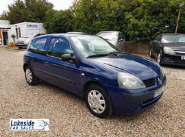 Renault Clio 1.2 Litre 3 Door Hatch, Only 52,000 Miles, New MOT, Lovely Condition, Ideal First Car.