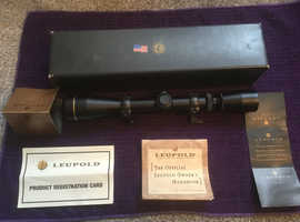 Leupold VXII 3-9x40 (Mounted but never used) Immaculate Condition
