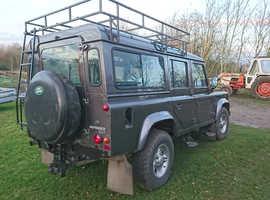Land Rover 110 COUNTY D TURBO, 2001 (Y) Grey Estate, Manual Diesel, 68,889 miles