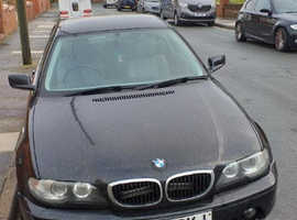 BMW 3 Series, 2003 (53) Black Coupe, Manual Petrol, 109,461 miles
