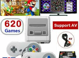 Brand New 620 Games in 1 Classic Mini Game Console for SNES Retro TV Gamepads Nintendo UK