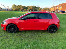 Volkswagen Golf, 2013 (13) Red Hatchback, Manual Diesel, 74,000 miles