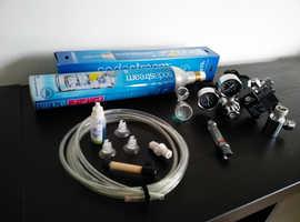 CO2 system for planted aquarium (regulator, solenoid, sodastream, diffuzer )