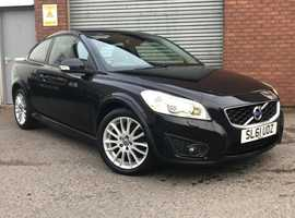 Volvo C30 2.0 D3 SE Lux, Metallic Black, Diesel, 150BHP, Full Leather, and Fabulous Service History