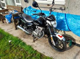 Motocycle 125 lexmoto