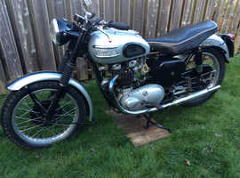 Readvertised due to lockdown triumph t110.