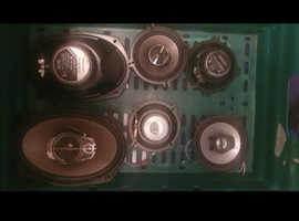 Pioneer and kenwood car speakers
