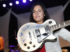 Autographed Guitars, Signed Guitars, COA