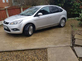 Ford Focus, 2008 (08) Silver Hatchback, Manual Diesel, 95,000 miles