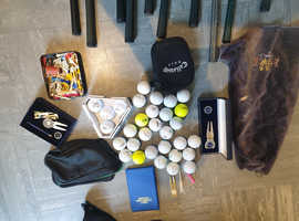 Adult golf club set bundle carry bag plus extras