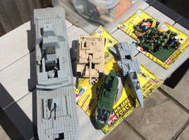 HM armed forces Lego type model