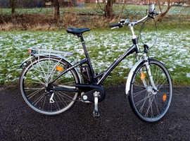Peugeot e-city Sport 24v Electric Bike - Dutch Style UNISEX StepThrough Frame - Like Kalkhoff