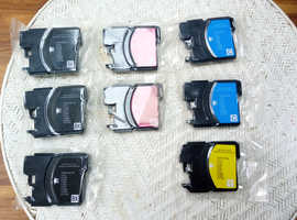 Ink cartridges for BROTHER  LC11, 16, 38, 61, 65, 67, 980,990, 1100