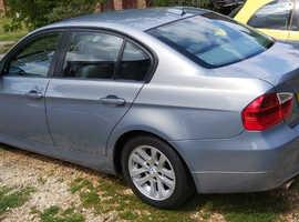 BMW 3 Series, 2006 (56) Green Saloon, Automatic Petrol, 86,000 miles