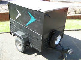 Box trailer ideal for camping or booties etc