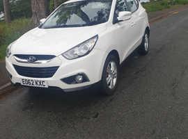 Hyundai Ix35, 2012 (62) White Estate, Manual Diesel, 59,687 miles