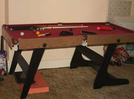 6x3  snooker table