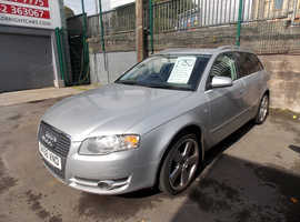 Audi A4, 2006 (56) Silver Estate, Cvt Petrol, 95,000 miles