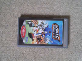 Sonic rivals PSP game disk