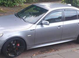 BMW 5 Series, 2005 (54) Grey Saloon, Automatic Diesel, 110,900 miles