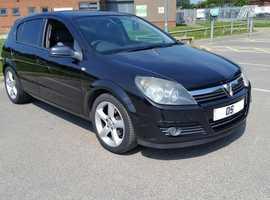 Vauxhall Astra, 2005 (05) Black Hatchback, Manual Petrol, 145,000 miles