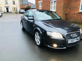 Audi A4, 2007 (07) Grey Saloon, Manual Diesel, 183,050 miles