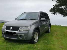 Suzuki Grand Vitara, 2007 (57) Grey Estate, Manual Diesel, 97,262 miles