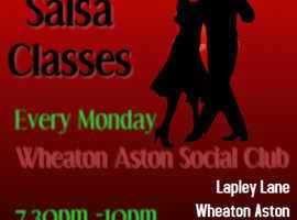 Wheaton Aston Salsa Classes near Telford