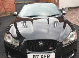 Jaguar Xf , XFR, 2009 (09) Black Saloon, Automatic Petrol, 74,000 miles