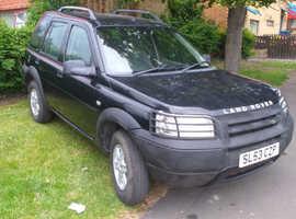 Land Rover Freelander, 2003 (53) Black Estate, Manual Petrol, 89,000 miles