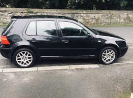Volkswagen Golf, 2002 (51) Black Hatchback, Manual Diesel, 141,000 miles