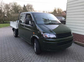 2006 VW Transporter Crewcab Dropside