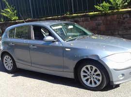 BMW 1 series, 2005 (54) Blue Hatchback, Manual Diesel, 169,182 miles