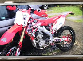 Honda crf 250r 2011 road legal