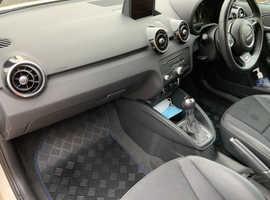 Audi A1, 2012 (62) White Hatchback, Semi auto Petrol, 40,400 miles
