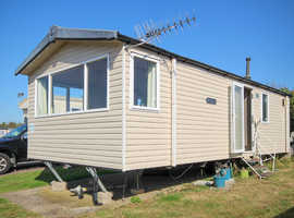 Swift Soleil 2013 static caravan at Allhallows, Kent. 2 bedrooms, cheap site fees