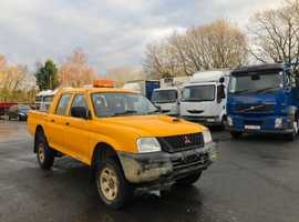 Mitsubishi L200, 2005 (05) Yellow 4x4, Manual Diesel, 147,521 miles