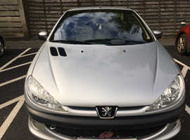 Bargain !!!! Peugeot 206 CC, 2002 (52) Silver Coupe, Manual Petrol, 111,327 miles,  One careful female owner from new