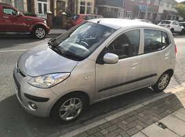 Hyundai i10, 2008 (08) Silver Hatchback, Manual Petrol, 104,402 miles