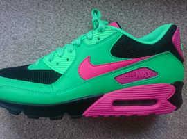 watch 68c45 0aeae Nike Air Max 90 ID UK Size 9 (Unused) New ad