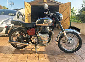 Classic Royal Enfield Meteor Minor deluxe 500cc 1958