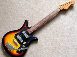Teisco 60s electric guitar (Tulip) made in Japan £60