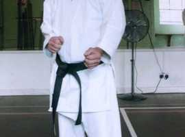 SAS Martial Arts,karate ,and or judo tuition,10 /80 years young.