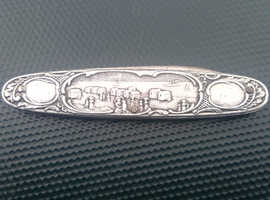 UNUSUAL COLLECTABLE PENKNIFE POSSIBLY SILVER £45